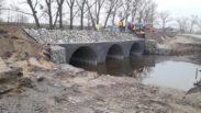 RGM group уклала асфальтобетонне покриття на мосту в Бобрику